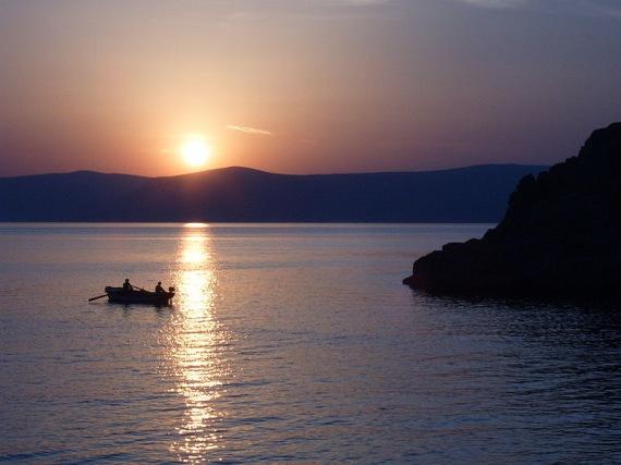 Sveti Juraj naplemente (forrás: Wikipedia)